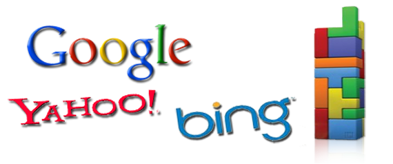 google, yahoo, bing...