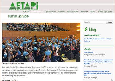 AETAPI - Asociación Española de Profesionales del Autismo