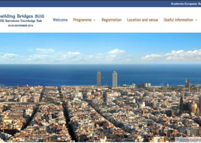 Congreso BUILDING BRIDGES 2019 | Barcelona
