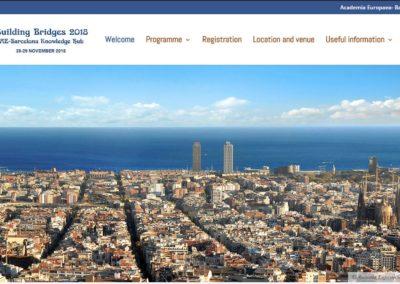 Congreso BUILDING BRIDGES 2019 | Barcelona