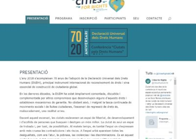 Cities For Rigths | Barcelona