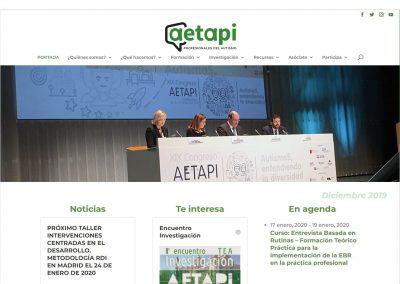 AETAPI | Asociación Española de Profesionales del Autismo