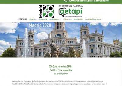 Congreso AETAPI 2020 | Madrid